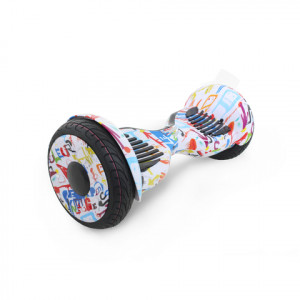 Гироскутер Белый Микс Hoverbot C-2 Light White Multicolor Bluetooth