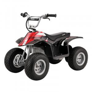 Электро-квадроцикл Razor Dirt Quad Черный для детей