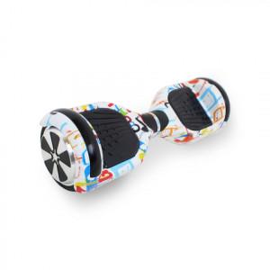 Гироскутер  Белый Мультиколор Hoverbot A-3 Light LED White Multicolor