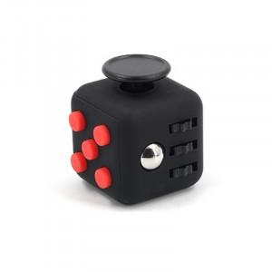 Кубик Fidget Cube Black-Red