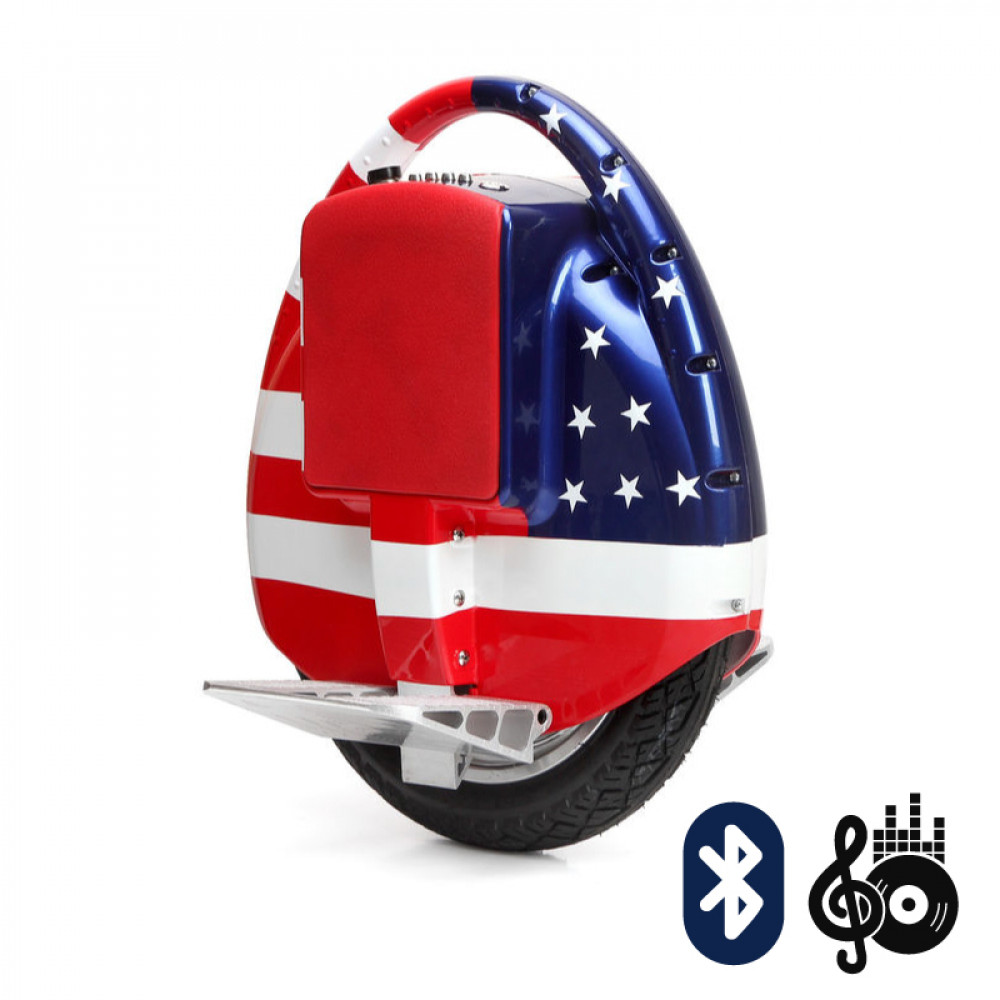 Моноколесо Hoverbot S-3BL American flag (Американский флаг) Bluetooth