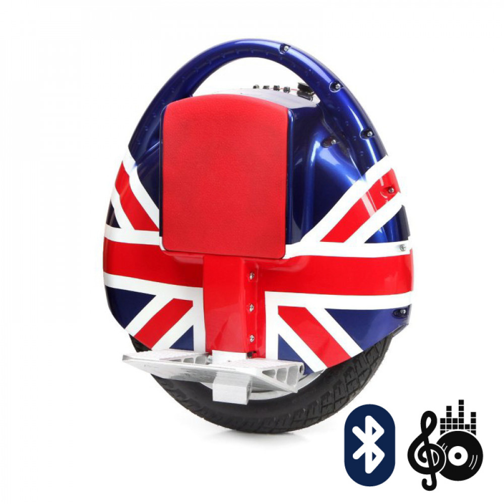 Моноколесо Hoverbot S-3BL British flag (Британский флаг) Bluetooth