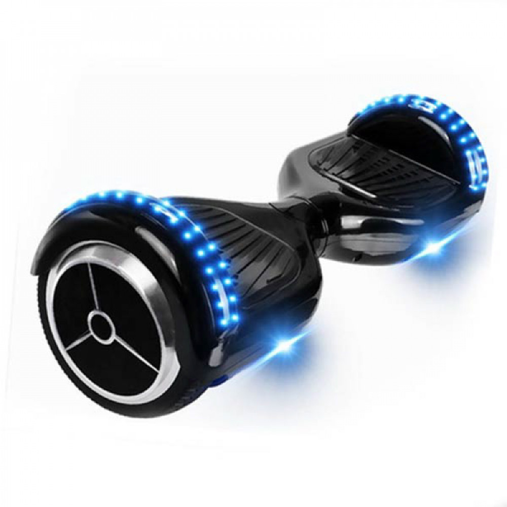 Гироскутер Черный Smart Balance LED Black 6,5 Bluetooth