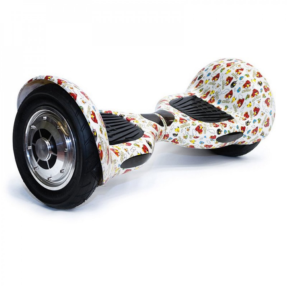 "Гироскутер  Smart Balance SUV 10"" Angry Birds Bluetooth"