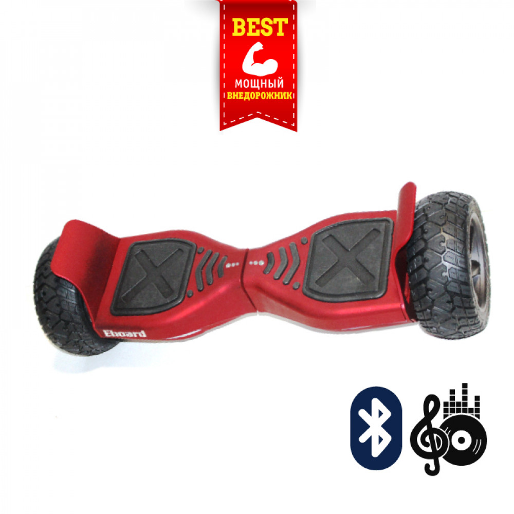 "Гироскутер Красный Smart Balance Offroad 9"" Red Bluetooth"