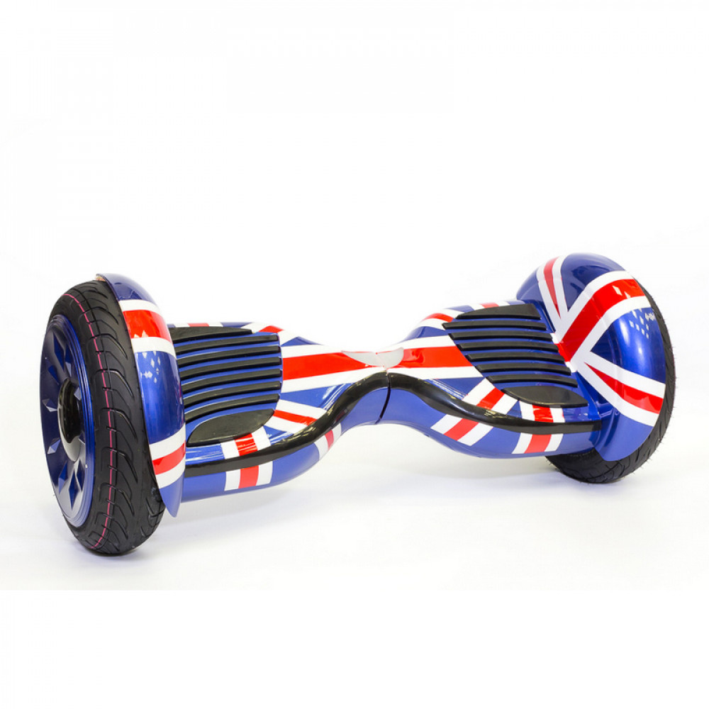 "Гироскутер Британский Флаг Smart Balance Wheel Premium 10.5"" British flag Bluetooth"