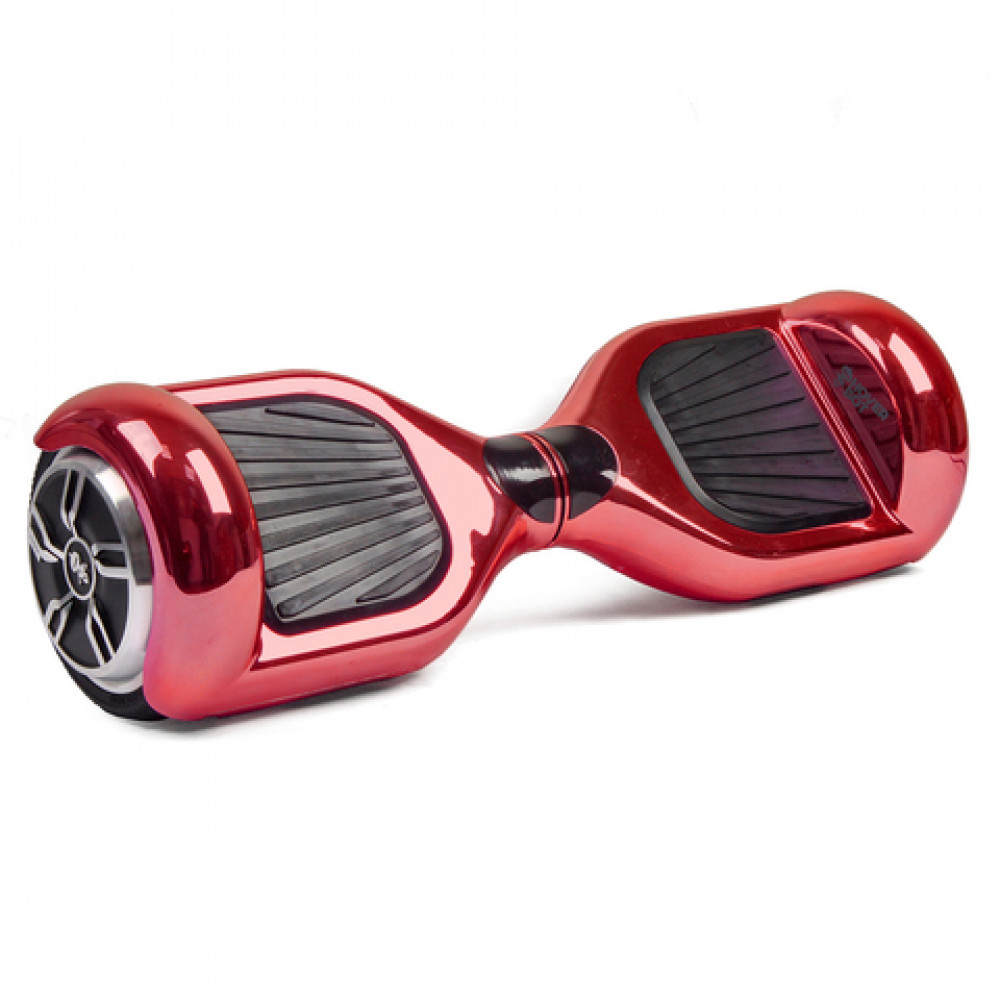 Гироскутер Красный Блестящий Hoverbot A-3 PREMIUM Red Metallic Bluetooth мобильное приложение