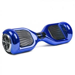 Гироскутер Темно-синий Блестящий Hoverbot A-3 PREMIUM Dark Blue Metallic Bluetooth мобильное приложение