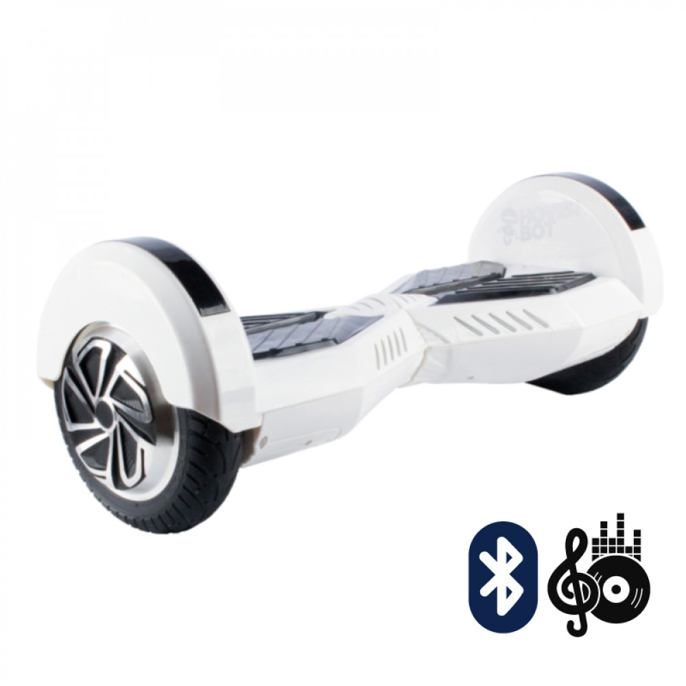 Гироскутер Бело-черный Transformer Hoverbot B-1B (A7-BT) White-black Bluetooth