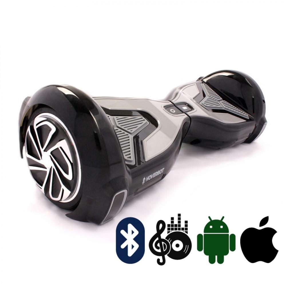 Гироскутер Черный Hoverbot A-15 PREMIUM Black Bluetooth мобильное приложение