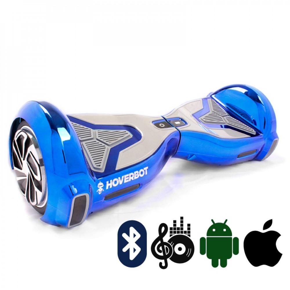 Гироскутер Голубой Hoverbot A-15 PREMIUM Blue Bluetooth мобильное приложение