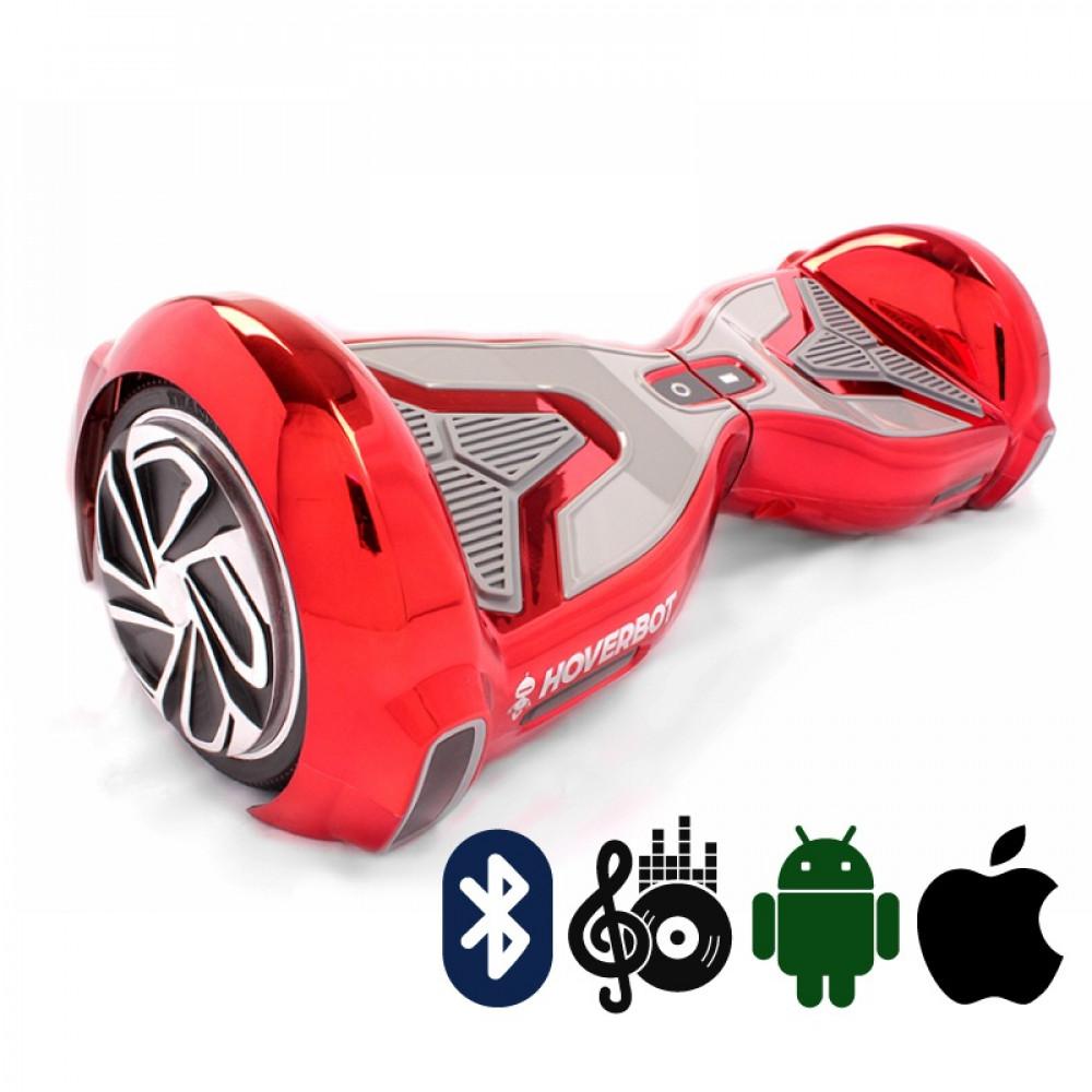 Гироскутер Красный Hoverbot A-15 PREMIUM Red Bluetooth мобильное приложение