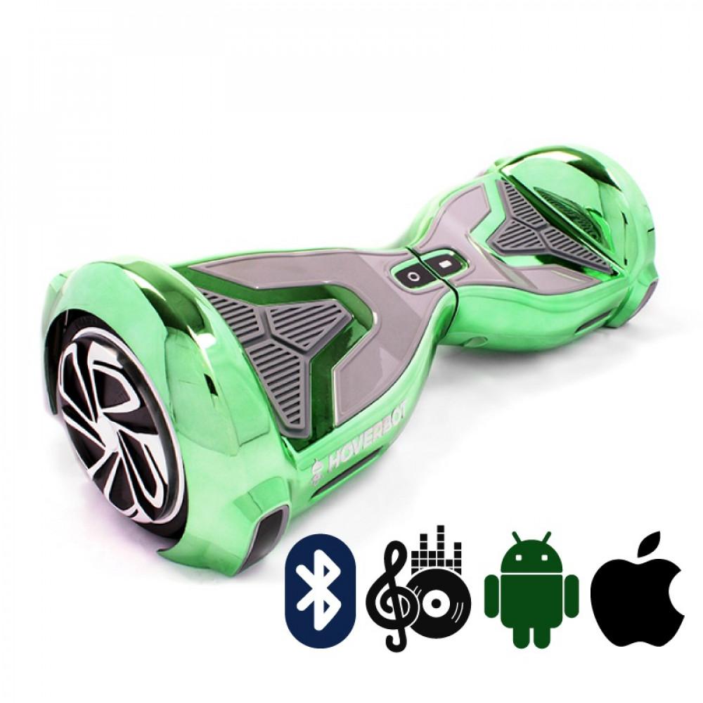 Гироскутер Зеленый Hoverbot A-15 PREMIUM Green Bluetooth мобильное приложение