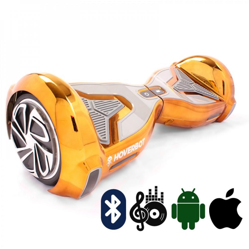 Гироскутер Золотой Hoverbot A-15 PREMIUM Golden Bluetooth мобильное приложение