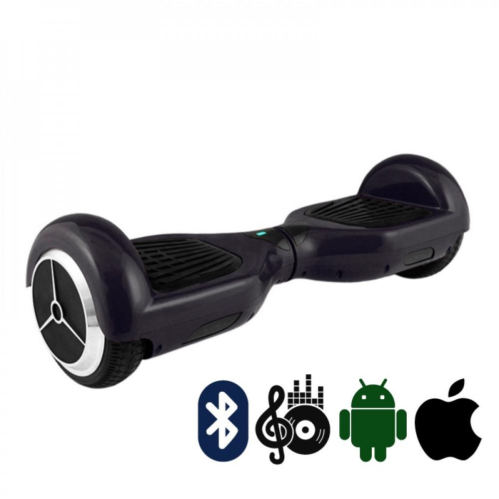 Гироскутер Черный Hoverbot A-3 PREMIUM Black Bluetooth мобильное приложение
