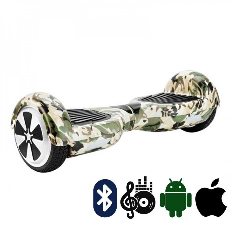 Гироскутер Камуфляж Hoverbot A-3 PREMIUM Camouflage Bluetooth мобильное приложение