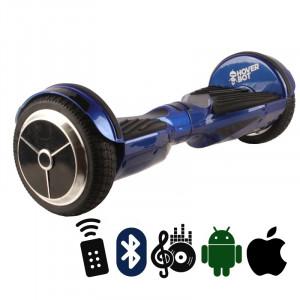 Гироскутер Синий глянцевый Hoverbot A-6 PREMIUM Glossy Blue Bluetooth пульт управления