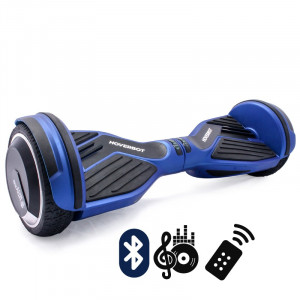 Гироскутер Кислотно-синий Hoverbot A-6 PREMIUM Acid Blue Bluetooth пульт управления