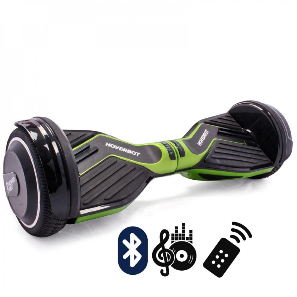 Гироскутер Кислотно-зеленый Hoverbot A-6 PREMIUM Acid Green Bluetooth пульт управления