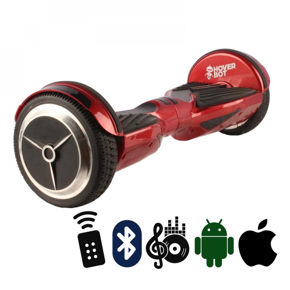Гироскутер Красный Hoverbot A-6 PREMIUM Red Bluetooth пульт управления