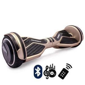 Гироскутер Золотой Hoverbot A-6 PREMIUM Golden Bluetooth пульт управления