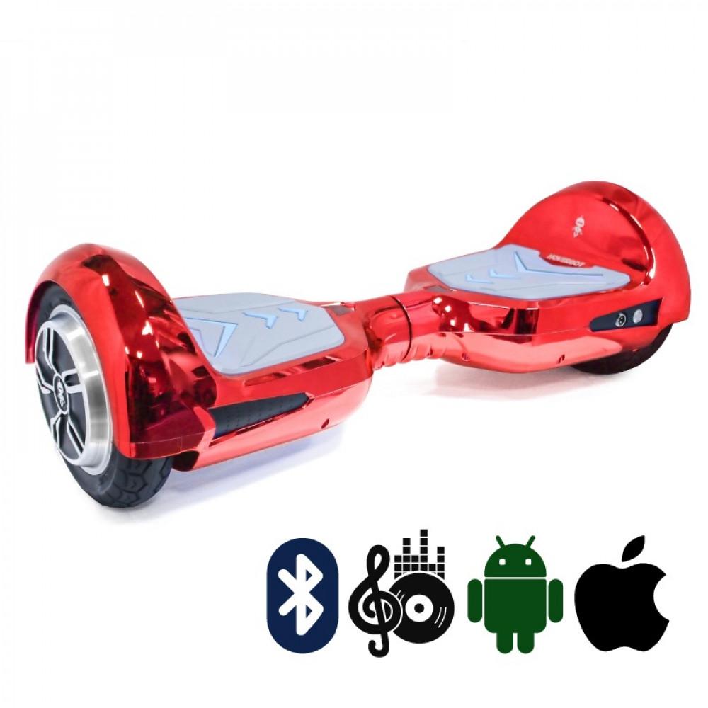 Гироскутер Красный Hoverbot B-4 PREMIUM Red мобильное приложение Bluetooth