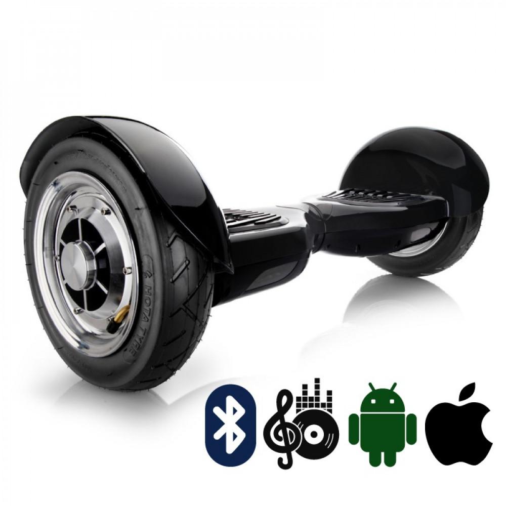 Гироскутер Черный Hoverbot С-1 (A8) PREMIUM Black Bluetooth