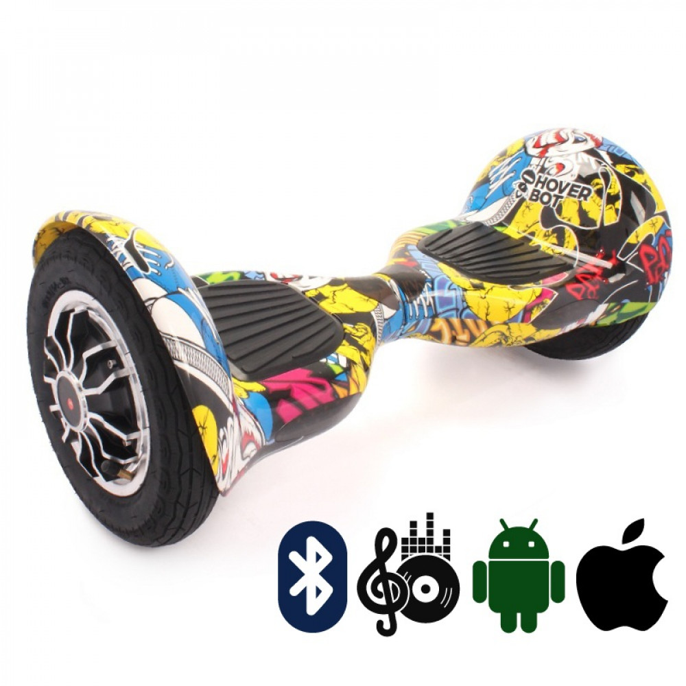 Гироскутер Hoverbot C-1 (A8) PREMIUM Yellow Multicolor Bluetooth