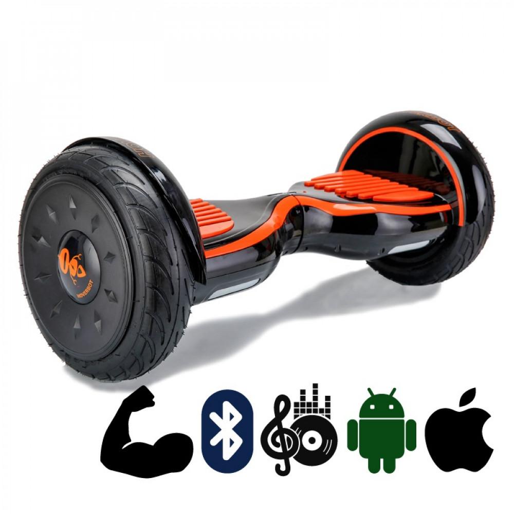 Гироскутер Черно-оранжевый Глянцевый Hoverbot C-2 Black-orange Bluetooth