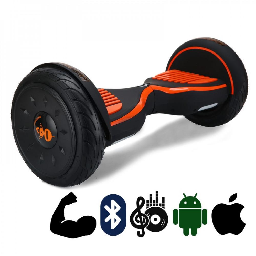 Гироскутер Черно-оранжевый Матовый Hoverbot C-2 Matte Black-orange Bluetooth
