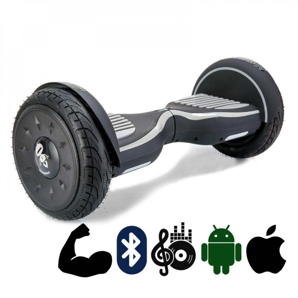 Гироскутер Черно-серый Матовый Hoverbot C-2 Matte Black-grey Bluetooth