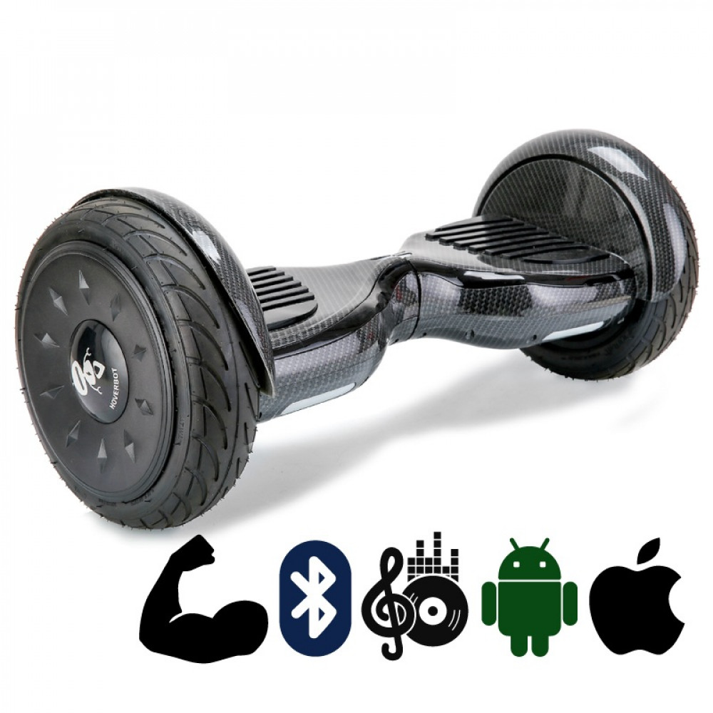 Гироскутер Черный Карбон Hoverbot C-2 Carbon black Bluetooth