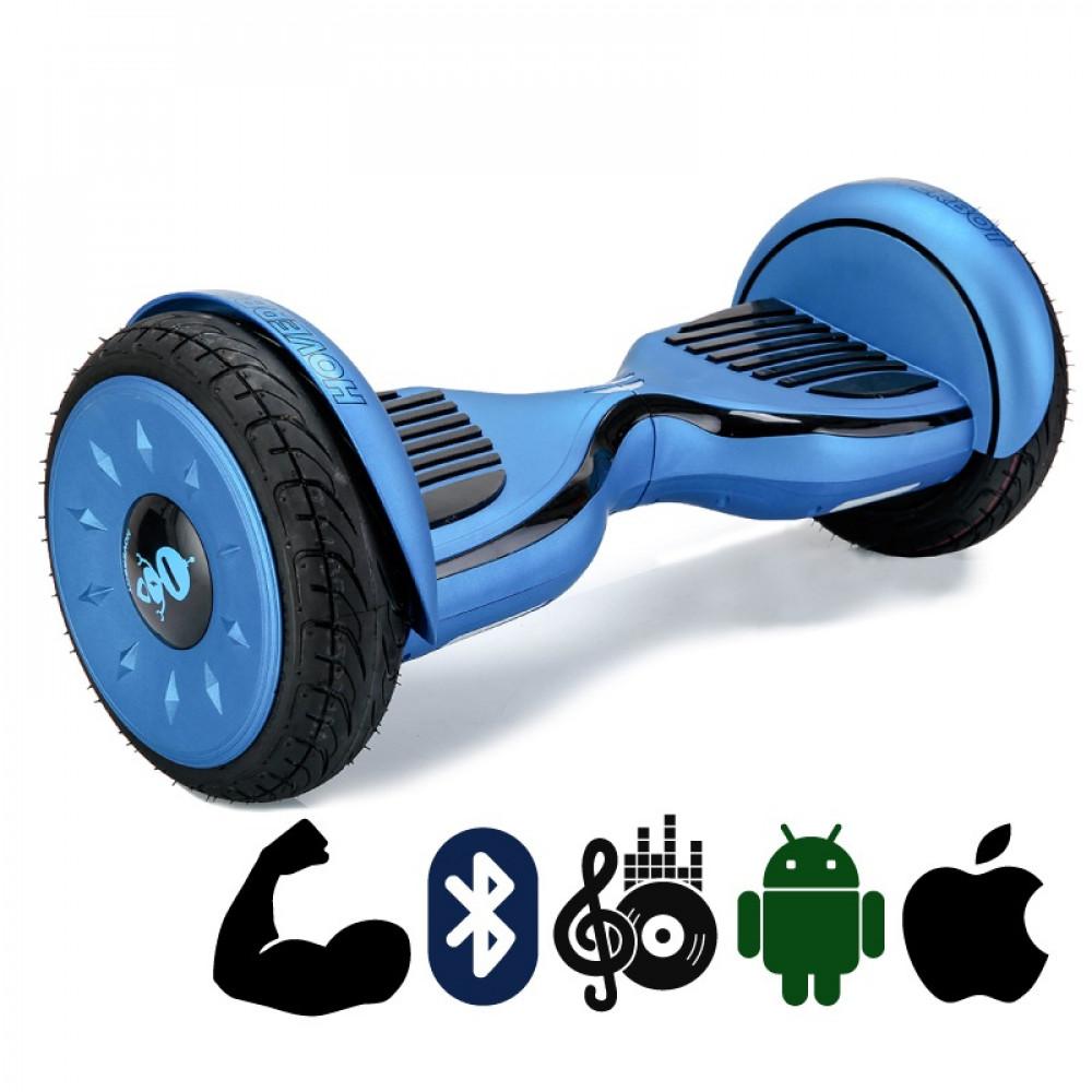 Гироскутер Сине-черный Матовый Hoverbot C-2 Matte Blue Black Bluetooth