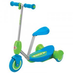 Трёхколёсный Электросамокат Razor Lil' E Голубой для малышей с сиденьем
