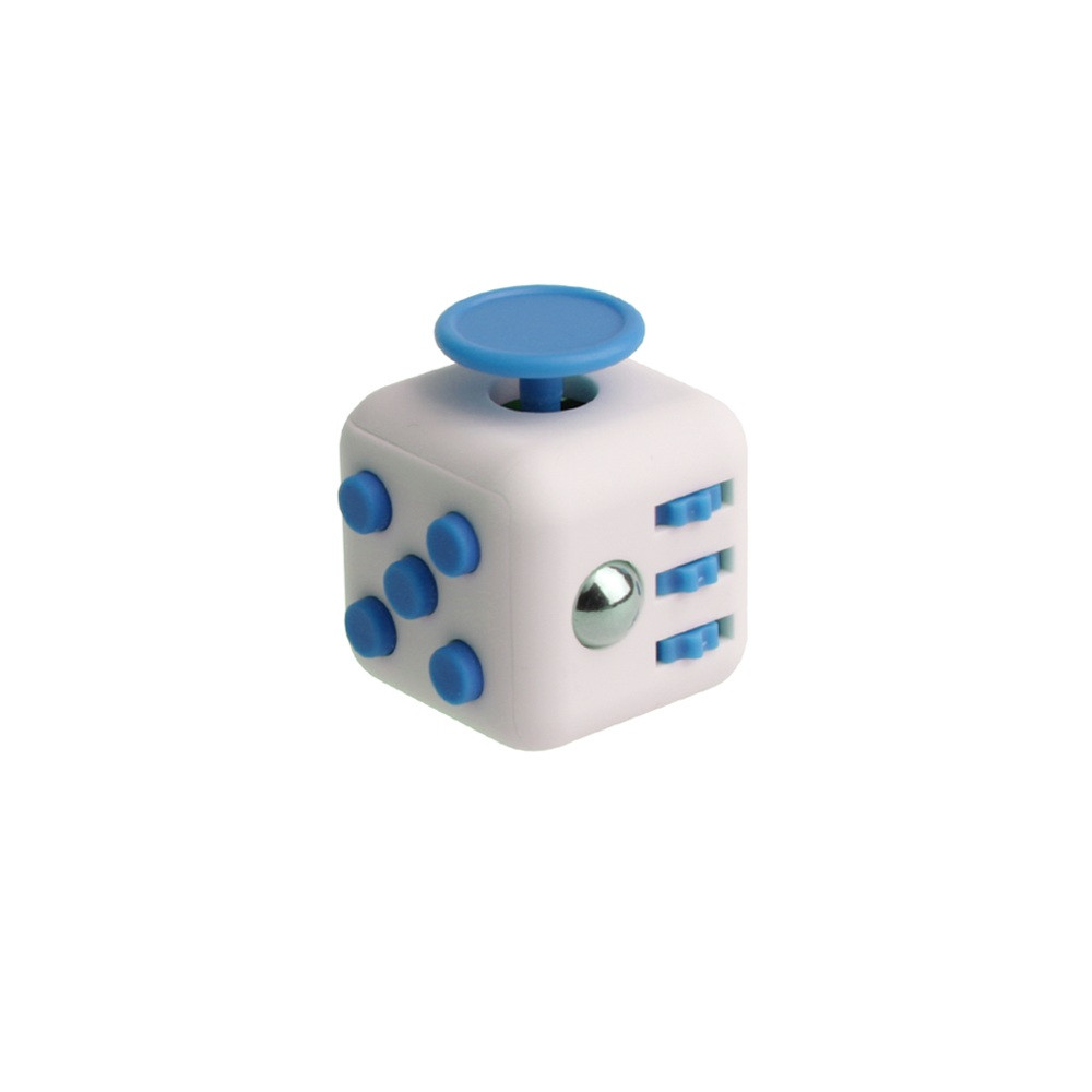 Кубик Fidget Cube White-Blue