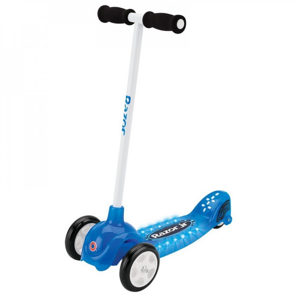 Детский Трёхколёсный Самокат Razor Lil Tek Blue (Синий)