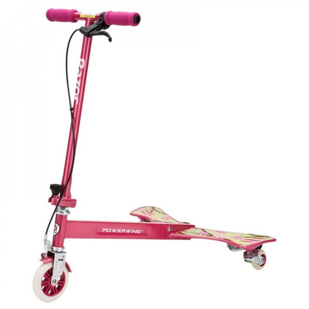 Складной Самокат-бабочка Razor PowerWing Sweet Pea (Розовый)
