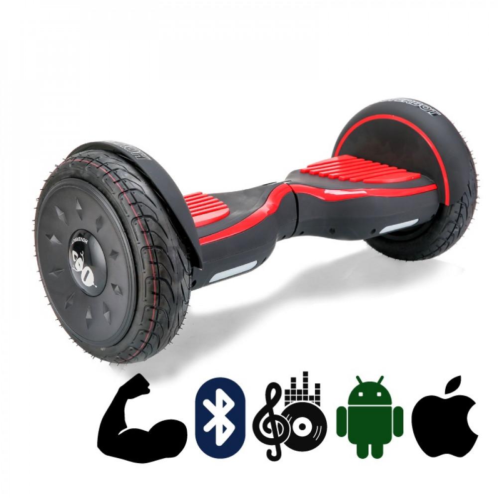 Гироскутер Черно-красный Матовый Hoverbot C-2 Matte Black-red Bluetooth