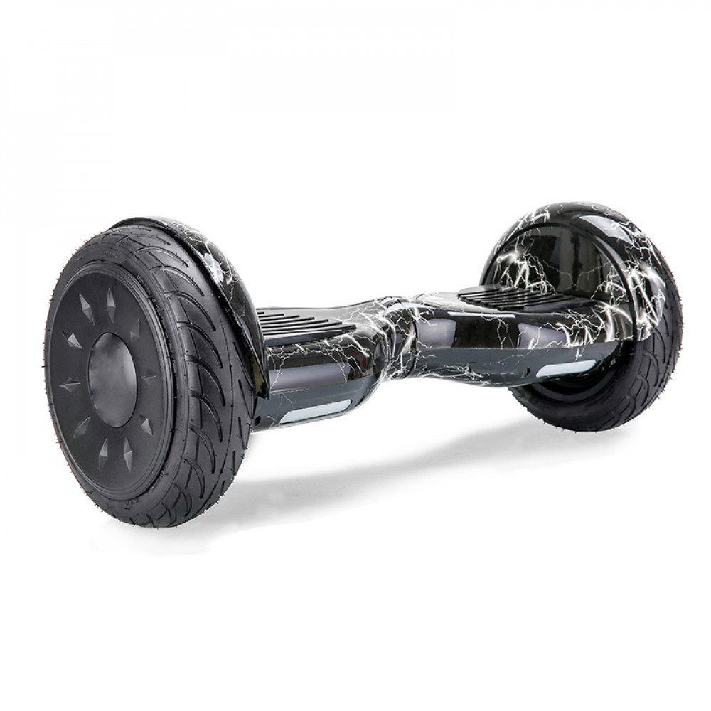 "Гироскутер Черная молния Smart Balance Wheel 10.5"" New Premium Black Lightning Bluetooth"