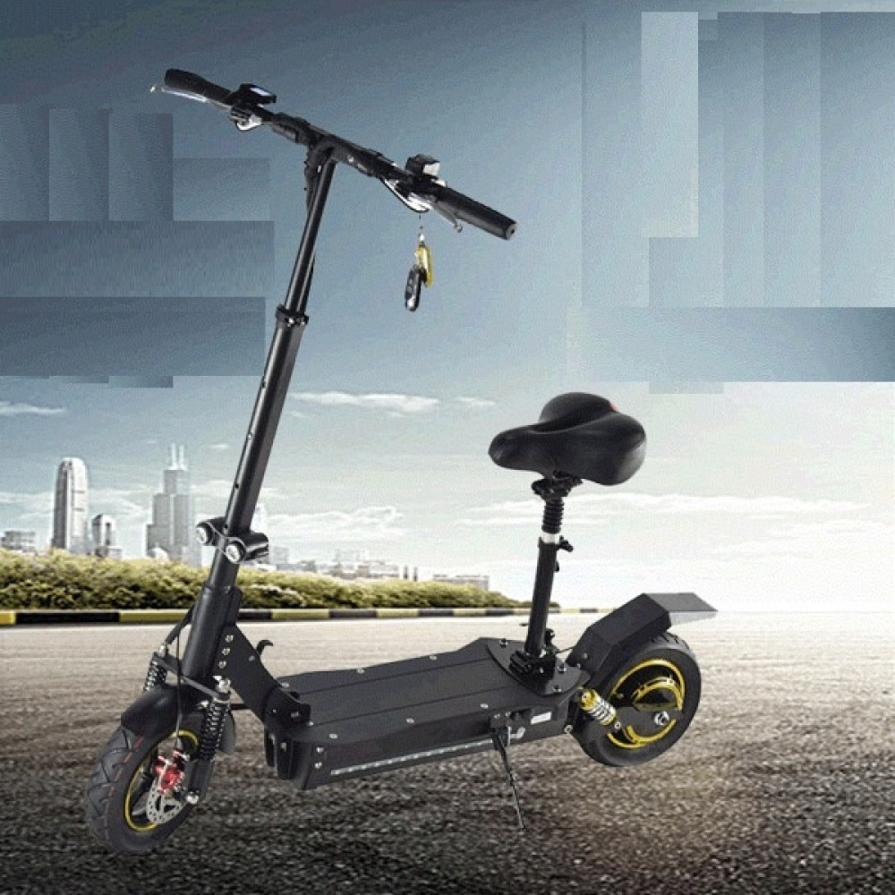 Электросамокат El-sport Scooter CD19 250W Brushless 24V 8Ah Lithium Battery Black (Чёрный)