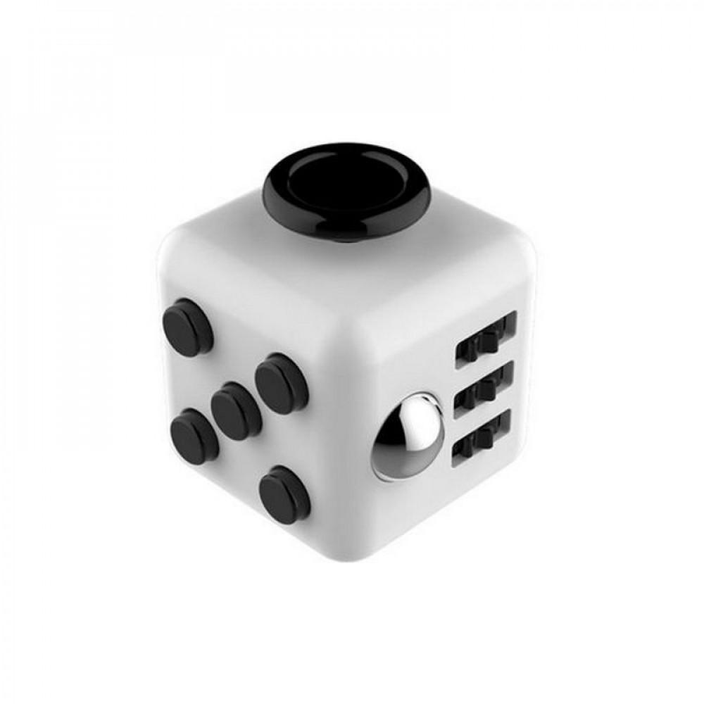 Кубик Fidget Cube White-Black