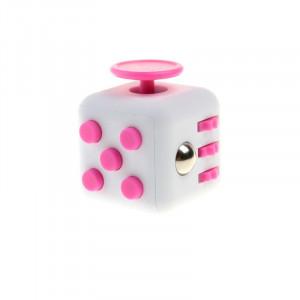 Кубик Fidget Cube White-Pink
