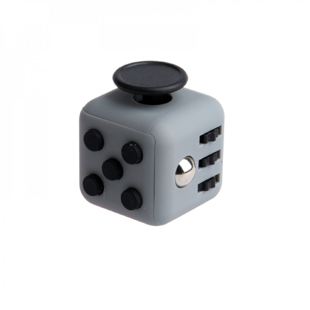 Кубик Fidget Cube Grey-Black
