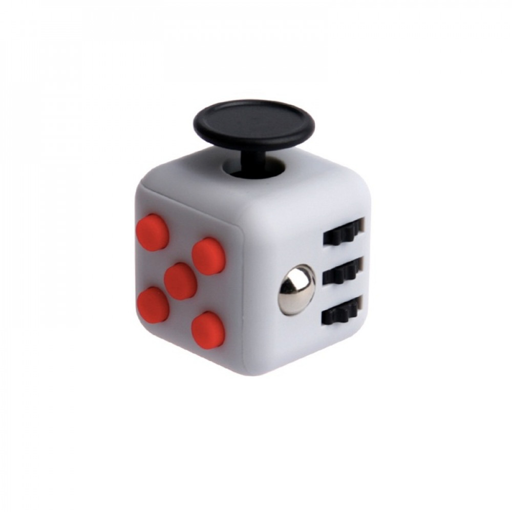 Кубик Fidget Cube Grey-Black-Red