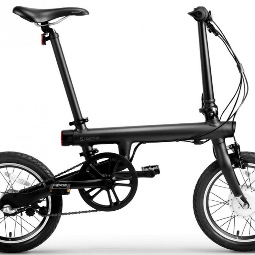 ✅ Электровелосипед Xiaomi MiJia QiCycle Черный Складной